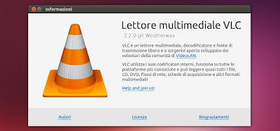 VLC 2.2.0 in Ubuntu Linux