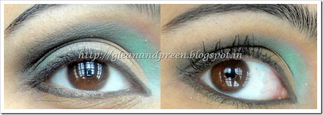 Intense Smokey Green Eyes - Eye Lining and Finishing