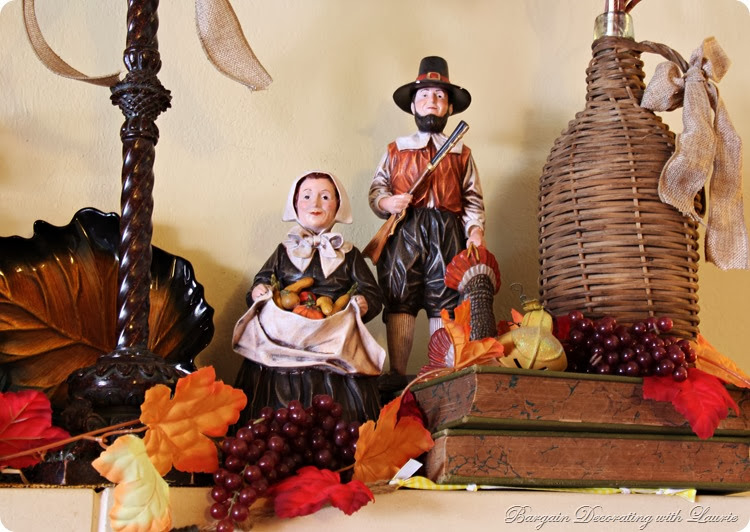 Thanksgiving Decor-Bargain Decorating with Llaurie