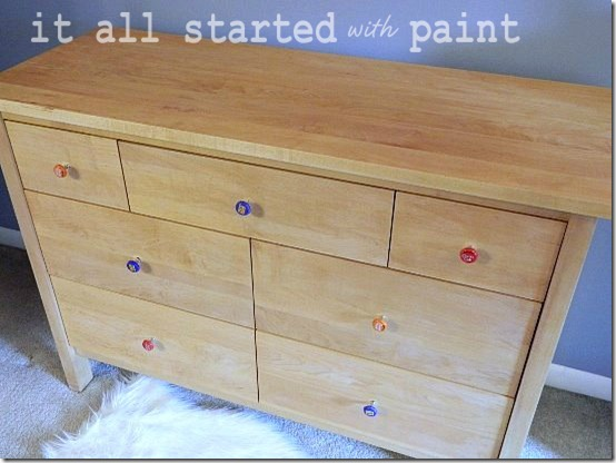 Maple Dresser Refinished 4