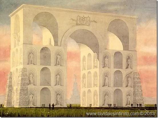 El Arco a los Hroes de la Defensa de Mosc