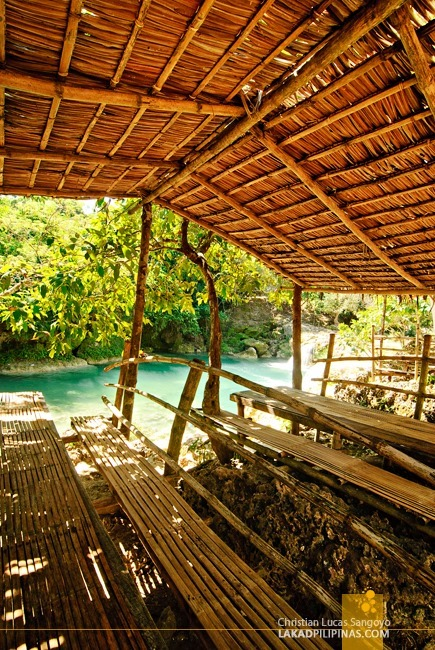 Rentable Huts at Pangasinan's Bolinao Falls 2