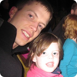 As a special birthday treat (his!), he took Avery to the circus last year :)