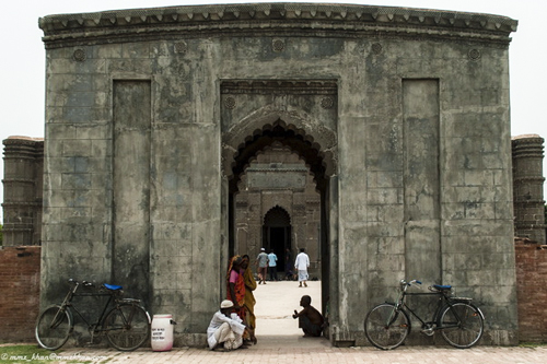 Gate of Choto Sona Mosque at the city of Gaur