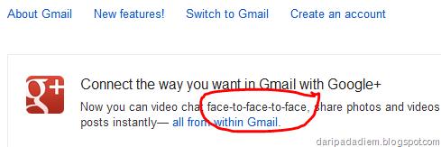 Google salah ketik
