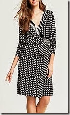 Banana Republic Chain Print Wrap Dress