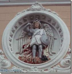San Miguel - Fachada del monasterio de San Miguel - Llíria