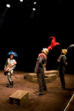 Théâtre du Loup, Genève.Merlin ou la terre dévastée, 2010