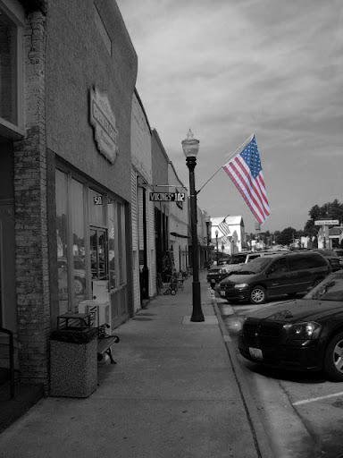 Main Street Cabool - a small town in South Central Missouri.