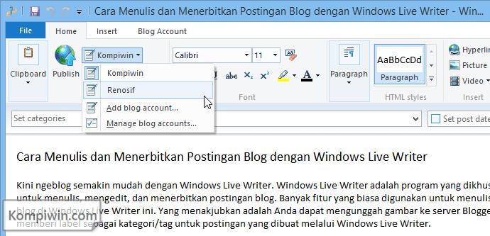 cara-menulis-dan-menerbitkan-postingan-blog-dengan-windows-live-writer 006
