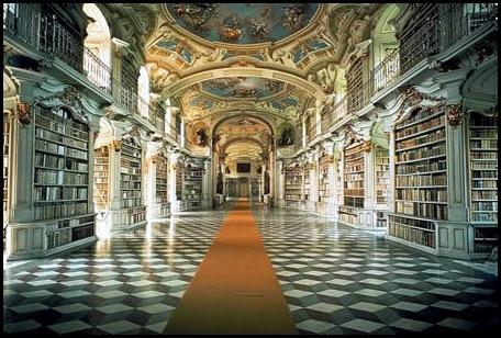Bibliothèque de l'abbaye bénédictine d'Admont, Autriche -1