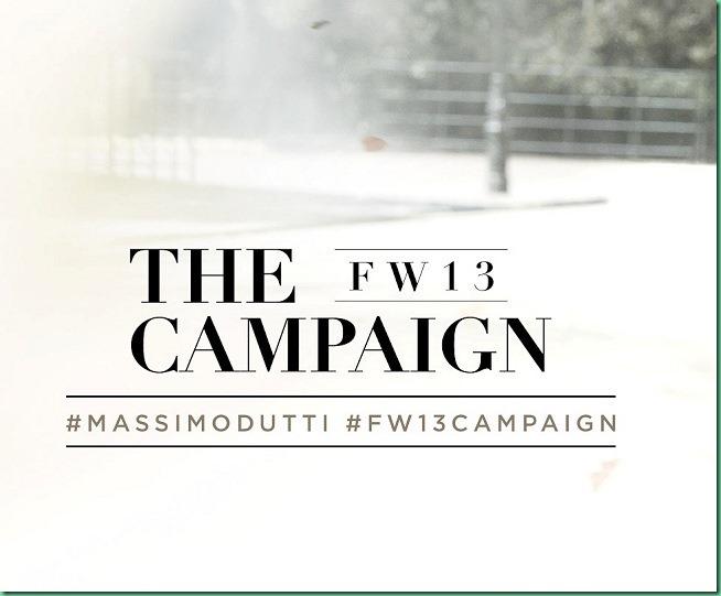 Toni Garrn & David Genat for Massimo Dutti F/W 13-14
