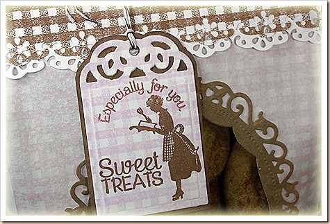 Gingham Background, Baking Gift Tags, Recipe Card Categories, Recipe Card and Tags Dies, Our Daily Bread designs