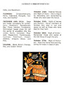 Issue 14 October 2007 Vol 2 Samhain Correspondences