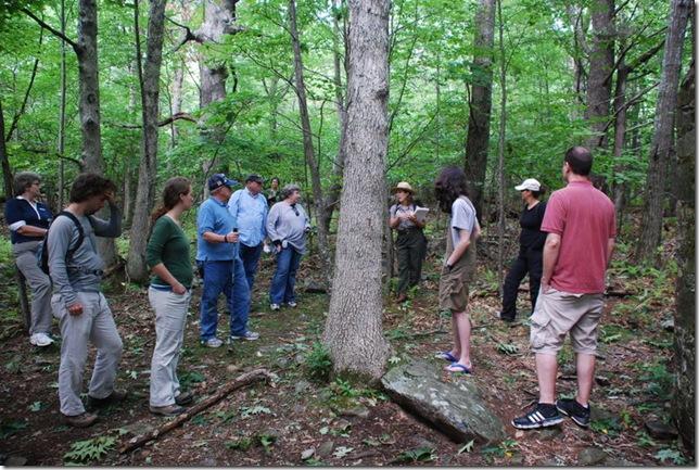 08-31-11 Shenandoah NP - CCC Ranger Hike 012