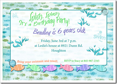 undangan ultah anak kecil 2014