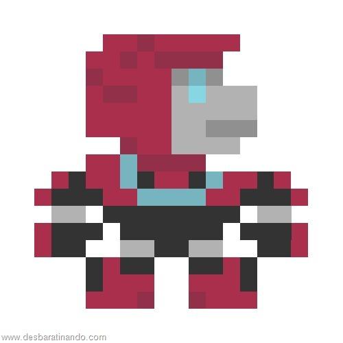 super herois e viloes em 8 bits transformers  (5)