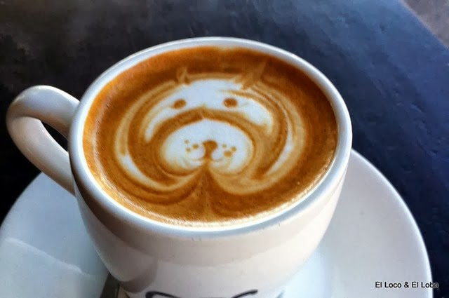 Doggie coffee art (1)