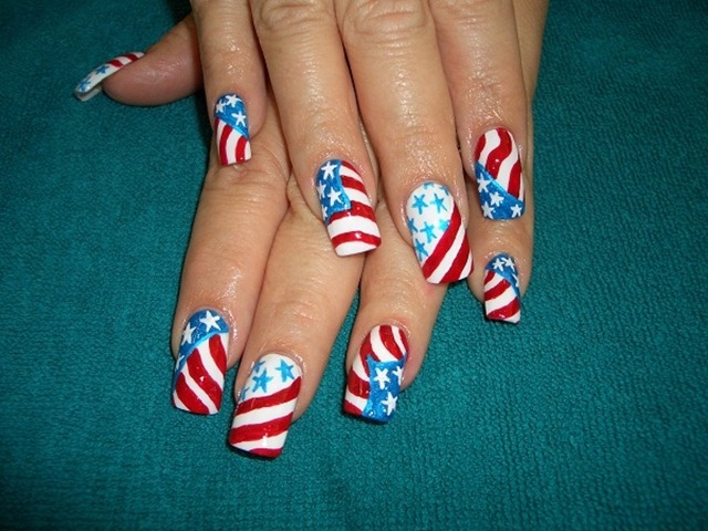 July 4th Nails_8