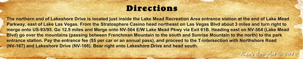 Lakeshore Drive Directions