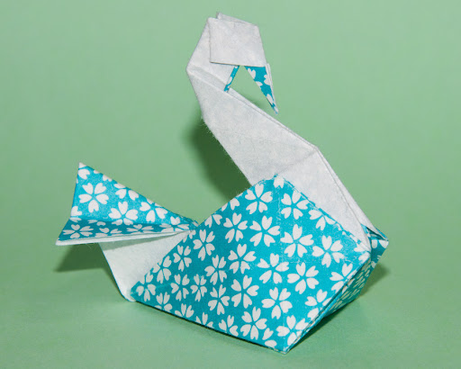 How to Make an Origami Swan That Flaps Its Wings | eHow.com
