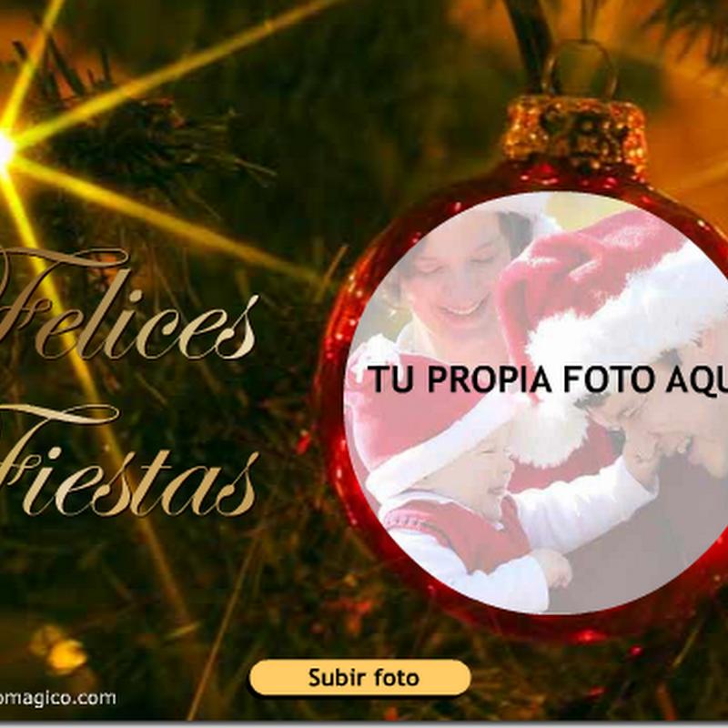 Hacer Postal de Navidad con tu foto y música