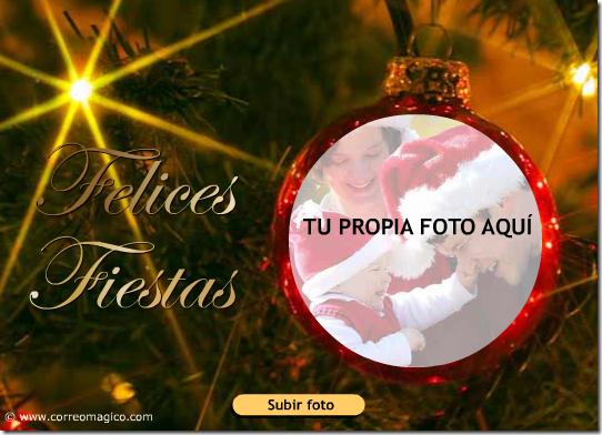 Cosas divertidas crear gratis postal de navidad con tu - Hacer una postal de navidad ...