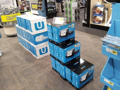WiiU at Best Buy