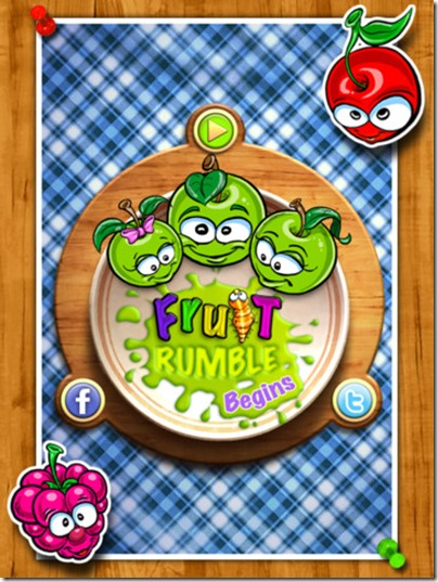 Fruit Rumble Begins