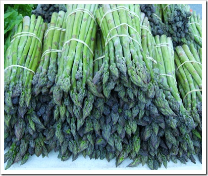 asparagus, rhinebeck farmers market