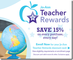 joann teacher rewards
