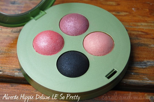 Alverde Hippie Deluxe LE So Pretty Lidschatten