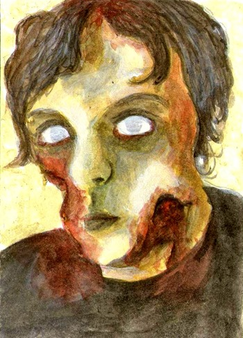 zombie portrait katie hone