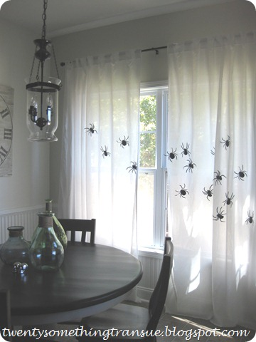 Halloween Curtains 3