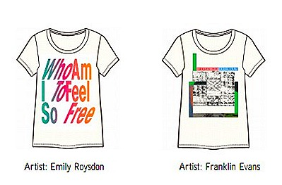 UNIQLO UT X Museum of Modern Art Collection by Message Art Now Artists