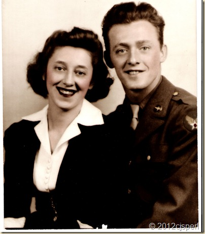 Wedding Feb 4, 1943