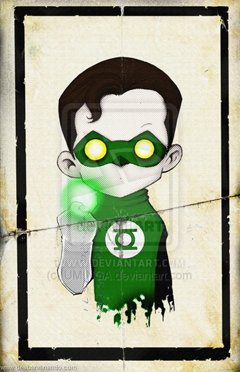 lanterna verde desenhos arte uminga herois desbaratinando.jpg