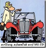 Clifton with His MG-TD Midget