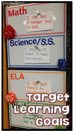 Growing Kinders: Target Learning Goals and #create2educate
