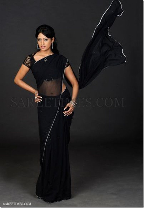 Brinda_Parekh_Black_Saree