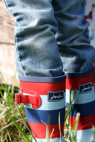 Joules Boy Wellies