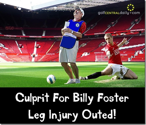 Billy Foster Injury Funny Pic