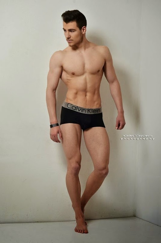 Milos Tomic in CK by Mladen Blagojevic Photography