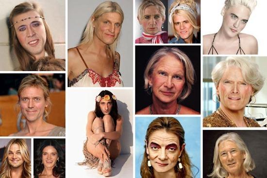 Como seriam as celebridades masculinas se fossem mulheres?