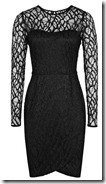 Reiss Lace Bodice Dress
