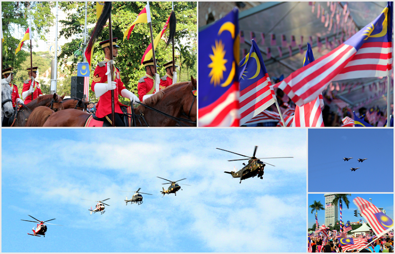 happy Merdeka day in Kuala Lumpur