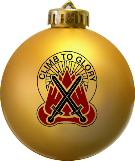 Climb to Glory Military Christmas ornament more info at fundraisingornaments.com
