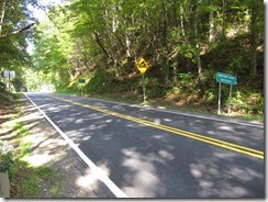 Newfound Gap headed into Buncombe County