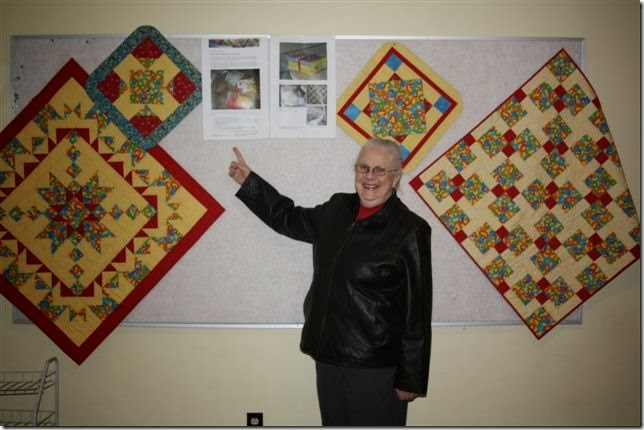 Mo and quilts