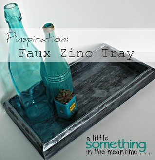 Faux Zinc Tray Banner WM